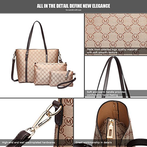 Life Bags Lulu Handbags Miss brown Bag Change In For Easy Pieces Bags 1815 3 Clutch Brown Shoulder 1815 Set q6wBXRd