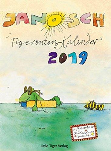 Janoschs Tigerentenkalender 2019: Mit Adventskalender! Kalender – Wandkalender, 15. August 2018 Little Tiger 3958780202 Für Babys ab 12 Monaten empfohlenes Alter: ab 3 Jahre
