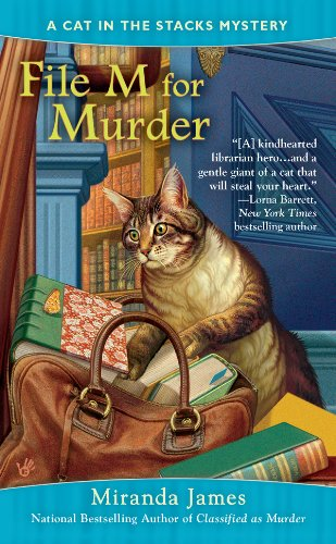 File M for Murder (Cat in the Stacks Mystery Book 3)