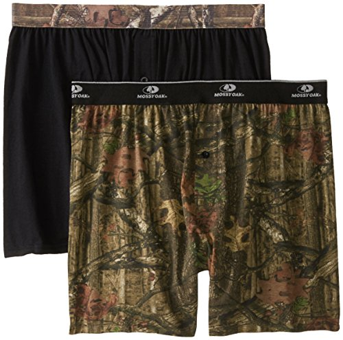 - Mossy Oak Men's 2 Pack Knit Boxers (Medium 32-32 Inches)