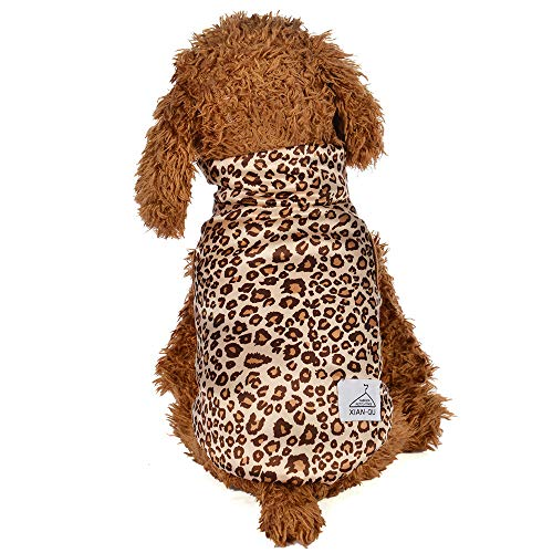Clearance Pet Clothes Cinsanong Fashion Leopard Print Dog