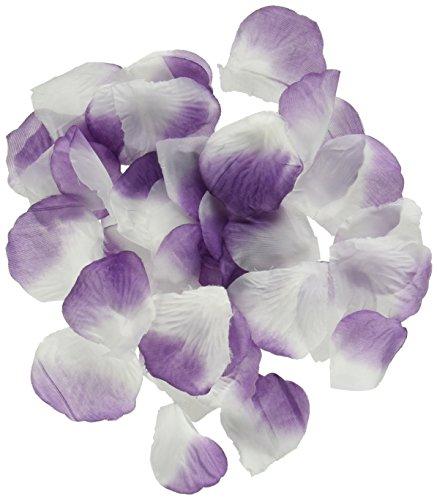 Homeford 400-Piece Faux Rose Petals Confetti Table Scatter, Lavender (Confetti Petal)