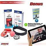 StrikeGuru Boxing Reflex Ball, Bonus Step by Step Video Training, Bonus Bonus E-Book, Perfect for Reaction, Agility, Punching Speed, Fight Skill and Hand Eye Coordination Training