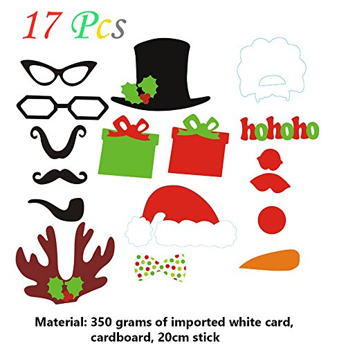 Ieasycan 17 Pcs Photo Booth Props Mustache On A Stick Wedding Party Photobooth Funny Masks Bridesmaid Gifts For Wedding - Pakistani Boys Picture