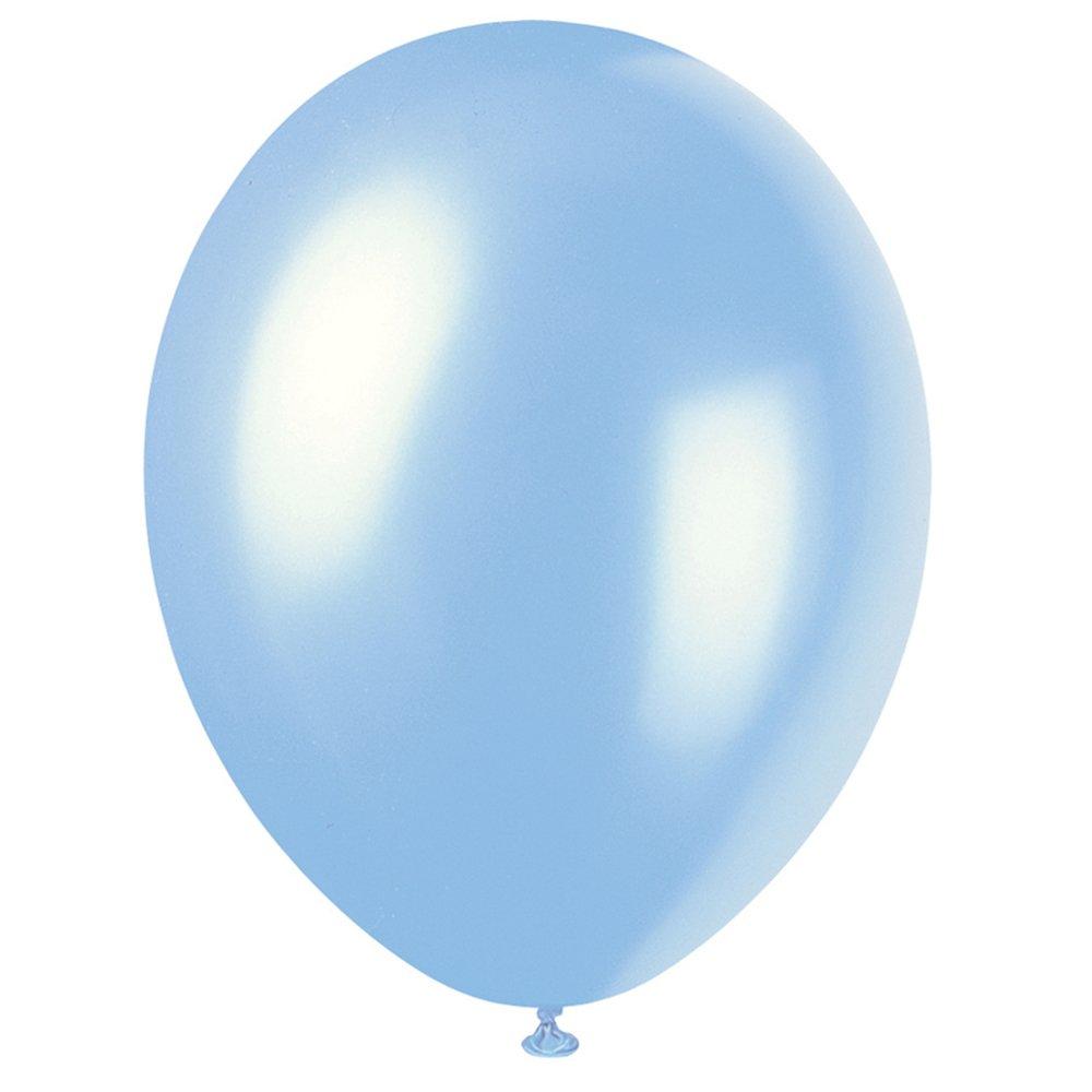 50ct Unique 56873 12 Latex Pearlized Cajun Yellow Balloons