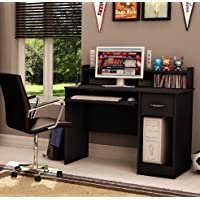 Small Wood Desk (Solid Black)