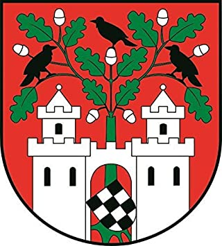 U24 Aufkleber Aschersleben Wappen Autoaufkleber Sticker Konturschnitt Auto