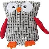 FouFou Dog Soft Spotted Owl Plushy, Gray, My Pet Supplies