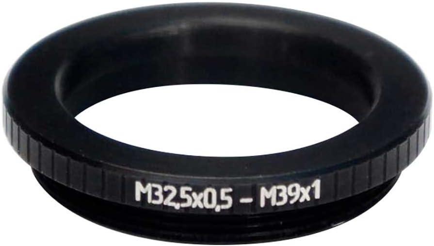 M32.5x0.5 Female to M39x1 Male Thread Adapter LTM