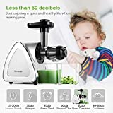 Juicer Machines, HOMEVER Cold Press Juicer with