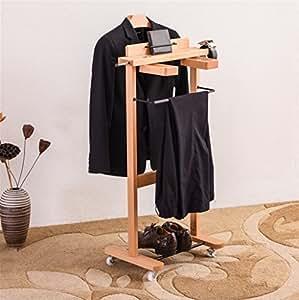 Disfraces de madera maciza perchas de Hotel conjunto de ...