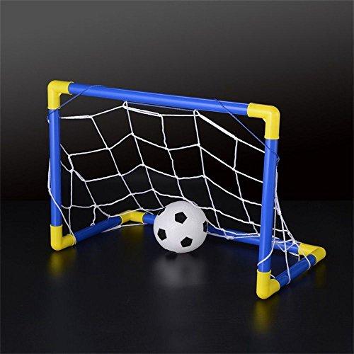 Soccer Goal /& Ball Set Air Pump Portable Indoor Outdoor Futbol Child Small Size