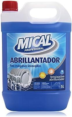 Mical Profesional - Abrillantador - Para máquinas lavavajillas - 5 ...