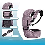 Front and Back New Portable Baby Decompression Shoulder Strap Coon Strap Waist Stool Baby Hold Stool epp core, G Backpack (Color: E) -F