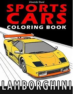 Sports Cars Coloring Book Lamborghini