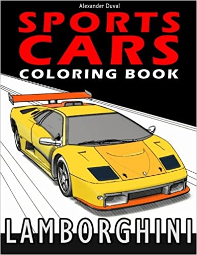 Sports Cars Coloring Book: Lamborghini: Amazon.de: Alexander ...