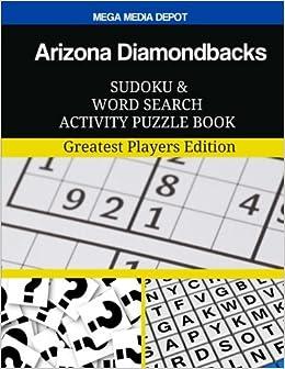 Arizona Diamondbacks Sudoku and Word Search Activity Puzzle