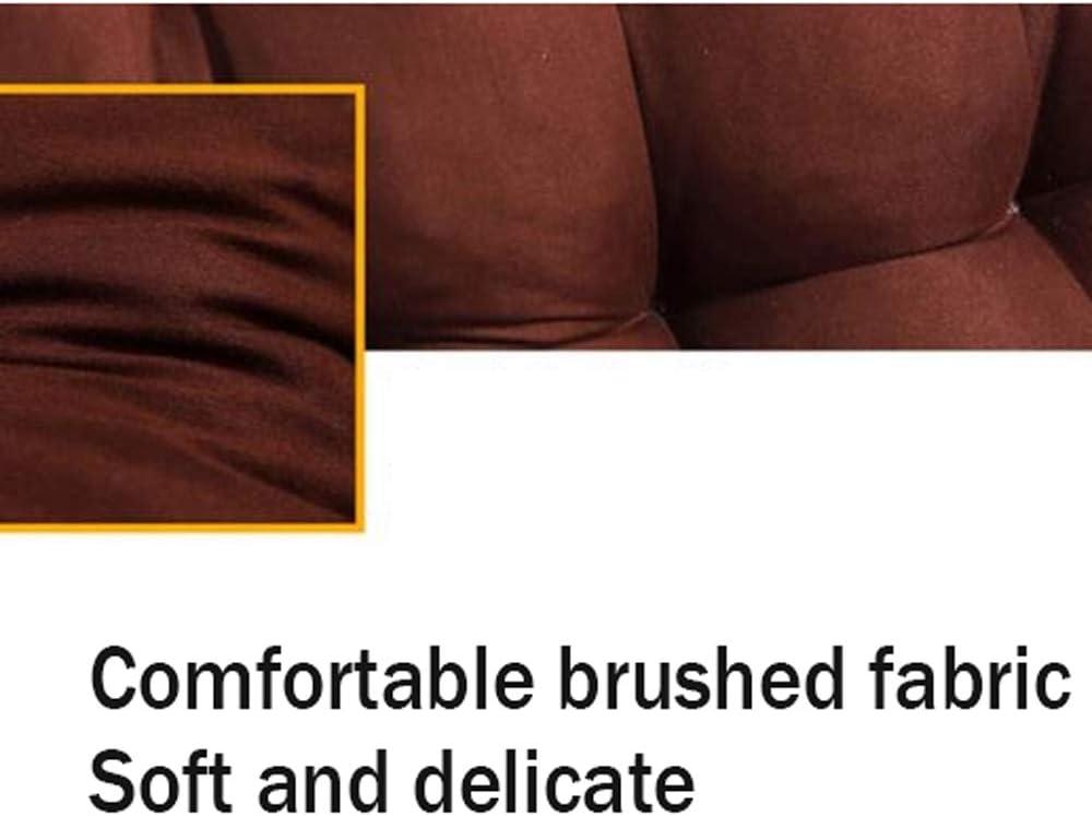 MQQW Sedie reclinabili Cuscino Pieghevole,per Sdraio con poggiapiedi Ricambio Cuscino Ideale per Sdraio da Giardino,Stuoia per Sedia Relaxer Reclinabile Khaki
