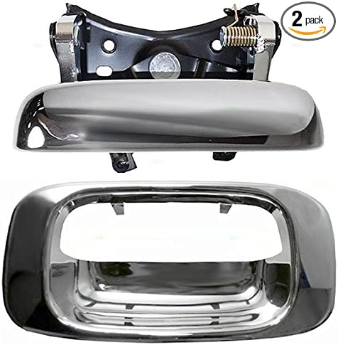 For 1999 2000 2001 2002 2003 2004 GMC SIERRA Chrome Tailgate Handle W//TRIM