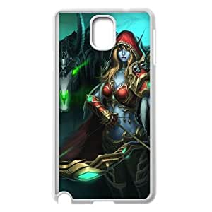 Samsung Galaxy Note 3 White phone case World of Warcraft Sylvanas Windrunner WOW8635763