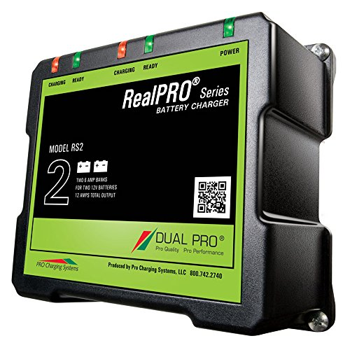 (Dual Pro RealPRO Series Battery Charger - 12A - 2-6A-Banks - 12V/24V)