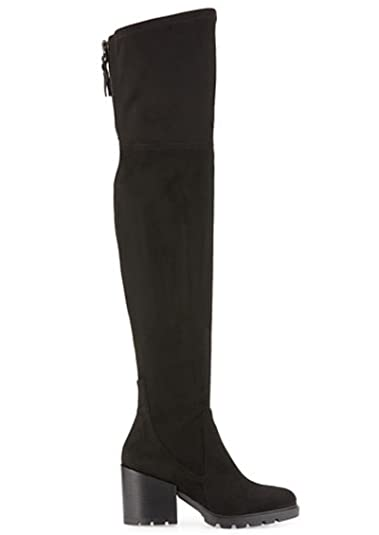 8e8d8340a1b KENDALL  amp AMP  KYLIE - Sawyer Suede Over The Knee Boots - Black ...