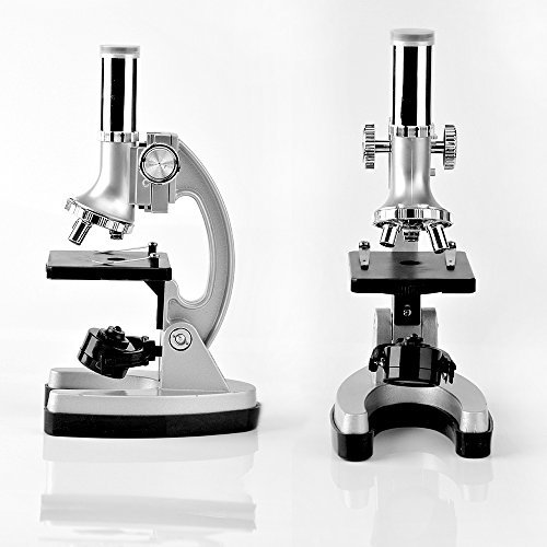 SOLOMARK Microscope for Kids and Beginners Includes 70pcs Accessory Set, 300X-600X-1200X Magnification with Metal Arm and Base Come with a Microscope Smartphone Mount by SOLOMARK (Image #3)