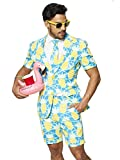 Opposuits Men's Summer Suit: Shorts, Short-Sleeved Jacket & Tie + Free Sunglasses & Cup Holder