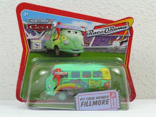 - Fillmore Pit Crew Member Disney Pixar Short Card Race O Rama Edition 1/55 Scale Mattel