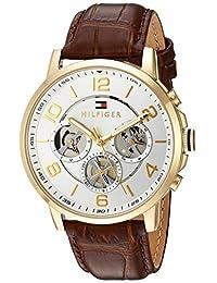 Tommy Hilfiger Men's 1791291 Analog Display Quartz Brown Watch