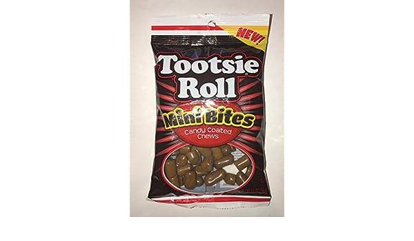 Tootsie roll mini bites