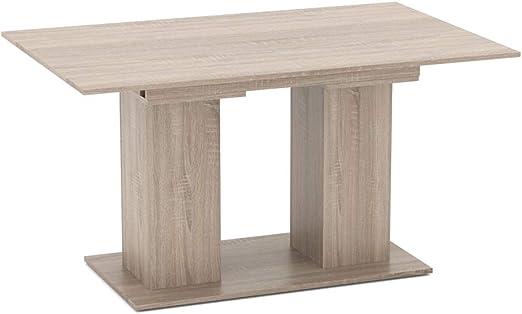 Vicco Esstisch Dix 90 X 140cm 180 Cm Esszimmertisch Ausziehbar Kuche Tisch Sonoma Eiche Amazon De Kuche Haushalt