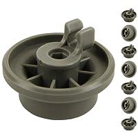 Roulettes pour panier inférieur dans lave-vaisselle   Contenu:lot de 8   Idéales pour Siemens, Bosch, Neff, etc.   de McFilter