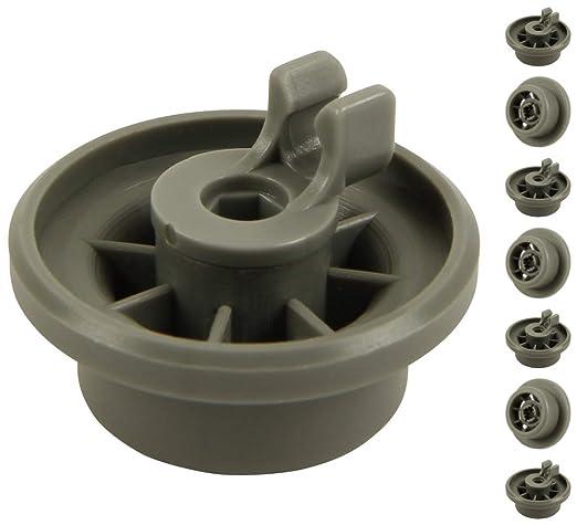 unterkorbrollen para lavavajillas (contenido: 8 unidades, adecuado para Siemens, Bosch, Neff, etc. | de McFilter