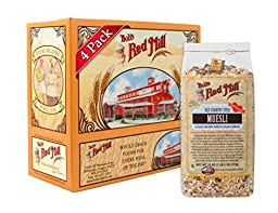 Bob\'s Red Mill Old Country Style Muesli Cereal, 18-ounce - 4 Packets