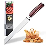 Best Bread Knives - Serrated Bread Knife 8 Inch - High Carbon Review