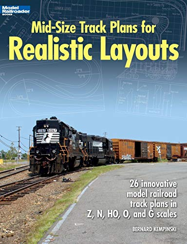 - Mid-Size Track Plans for Realistic Layouts (Model Railroader)