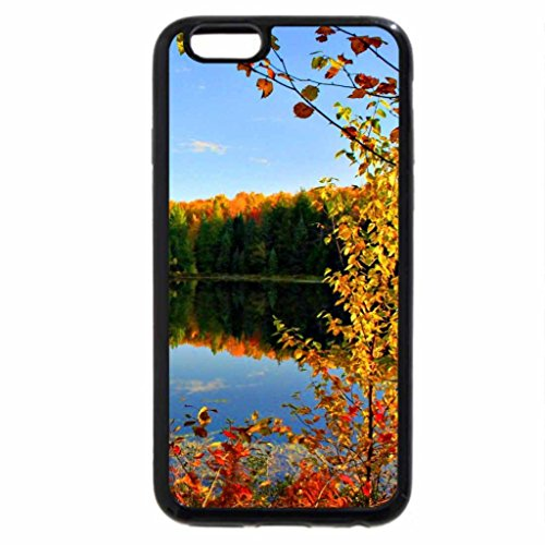 iPhone 6S / iPhone 6 Case (Black) Calm autumn lake