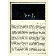 1913 Print Brutus Tent Painting Night Fall Shakespeare Play Julius Caesar Starke - Original Color Print
