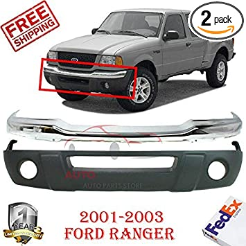 New Front Bumper For Ford Ranger 2001-2005 FO1002368