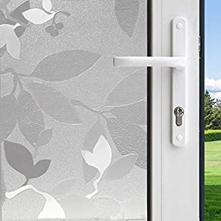 product image for Gila Decorative 36-in W x 6-1/2-ft L Frosted Autumn Frost Privacy/Decorative Window Film