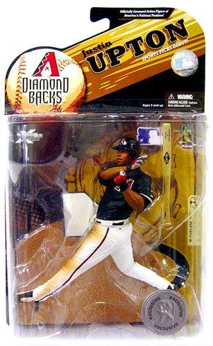 McFarlane Toys MLB Sports Picks Exclusive Series 23 Action Figure Justin Upton (Arizona Diamondbacks) - Upton Game
