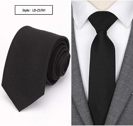 KYDCB Los Hombres Corbata Delgada Corbata de Moda para Hombre ...