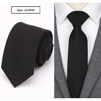 KYDCB Los Hombres Corbata Delgada Corbata de Moda para ...