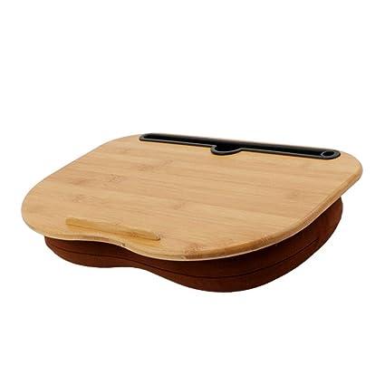 Mesa para Ordenador Portatil,Soporte con cojín de almohada ...