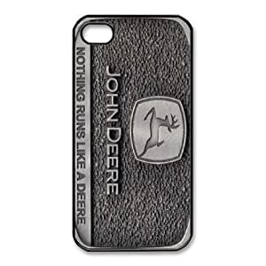 iPhone 4,4S Phone Case Black John Deere SF8603661