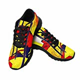 InterestPrint Women's Trail Running Shoes Africa Retro Vintage Style