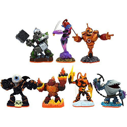 Skylanders Giants 7-Pack Eye Brawl, Ninjini, Bouncer, Crusher, Hot Head, Swarm, and Thumpback]()