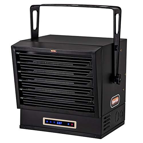 Dyna-Glo EG10000DH Dual Heat 10,000W Electric Garage Heater, Black