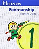 img - for Horizons 1st Grade Penmanship Teacher's Guide book / textbook / text book